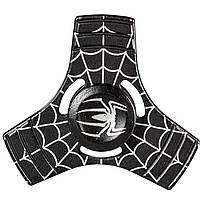 Спиннер металлический Fidget Spinner Паук Черный развивающий мелкую моторику рук