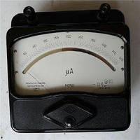 Микроамперметр, миллиамперметр, амперметр, милливольтметр и вольтметр М252