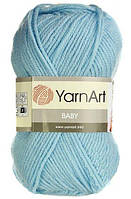 Детская пряжа  Бэби YarnАrt, 215, голубой