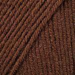 Пряжа Ярнарт Супер мерино Super Merino , №1182, коричневый