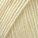Пряжа Ярнарт Супер мерино Super Merino , №256, молочный