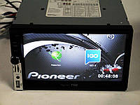 Магнитола Pioneer 7102 2din GPS+USB+BT+TV, фото 1