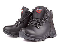 Черные ботинки для мальчика р (33-38)