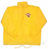 Куртки с логотипом, рекламные ветровки с логотипом