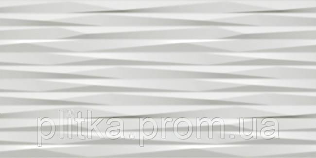 Плитка 3D BLADE WHITE MATT 8DBW СТЕНА 400х800, фото 2