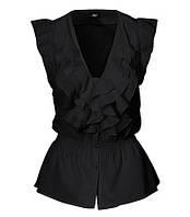 Блуза черная H&M, Размер: 44