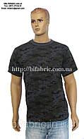 Футболка мужская К-01052, камуфляж, национальная гвардия, военная, кулир, хлопок,