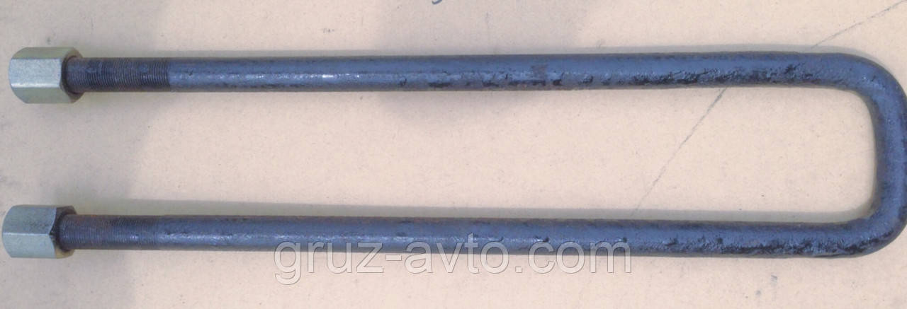 Стремянка задней рессоры ЗИЛ-130 / КАМАЗ прицеп/ с гайкой L-500 мм. 130-2912408