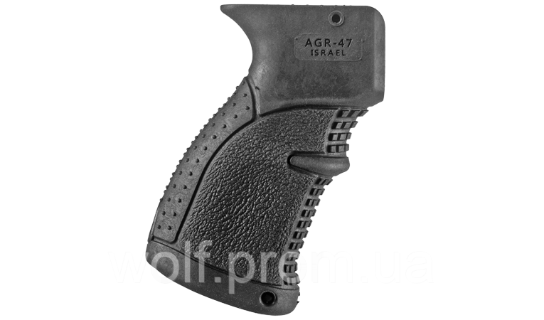 Рукоятка пистолетная AGR 47 для АК47/74 прорезиненная