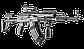 Рукоятка пистолетная AGR 47 для АК47/74 прорезиненная, фото 3