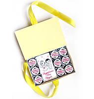 Подарочный набор молодоженам на Свадьбу. Купить шоколадный набор в интернет магазине подарков, фото 1