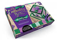 Набор Шкатулка-вышивка Embroidery Box 05 Danko Toys