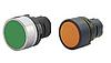 Головка кнопки круглая черная 020PTAINK