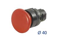 Кнопка с грибовидным толкателем 020PTAFRK