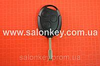 Ключ Ford mondeo, focus, transit 3 кнопки с чипом 4D 433Mhz лезвие Fo21