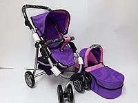 Коляска для кукол Melogo 9662 M, фиолетовый, фото 1