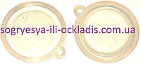 Мембрана силиконовая прозрачная 53 мм (без фир.упак) газовых колонок пр-во Китай, код сайта 0864