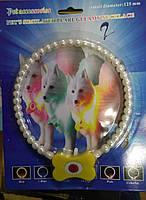 Ошейник-ожерелье светящийся для кошек и собак , разные размеры 185 см