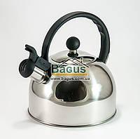 Чайник из нержавейки 2л (индукция) Empire EM-9535, фото 1