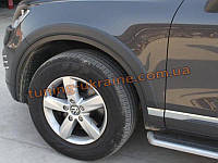Расширители арок из АБС пластика на Volkswagen Touareg 2010 узкие