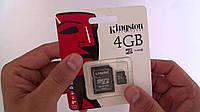 Карта памяти Micro SD 4 Gb