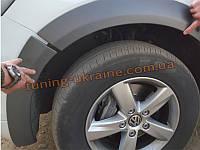 Расширители арок из АБС пластика на Volkswagen Touareg 2010 широкие