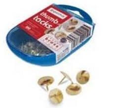 Кнопки золоті, 100шт. в пласт. коробочці