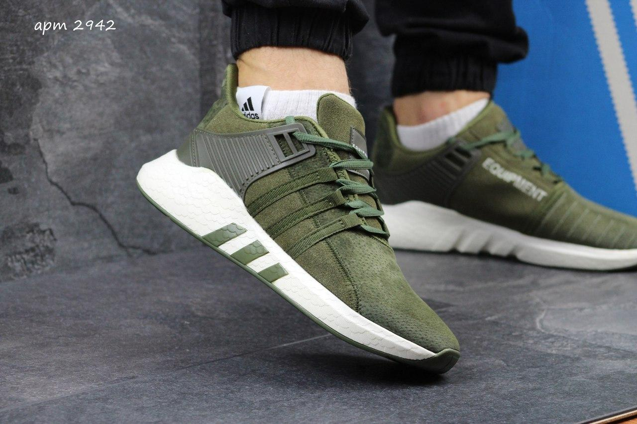 f72422ff4f238a Чоловічі замшеві кросівки Adidas Equipment ADV 91-17 -зелені, цена 875  грн./пара, купить Хмельницький — Prom.ua (ID#581589626)