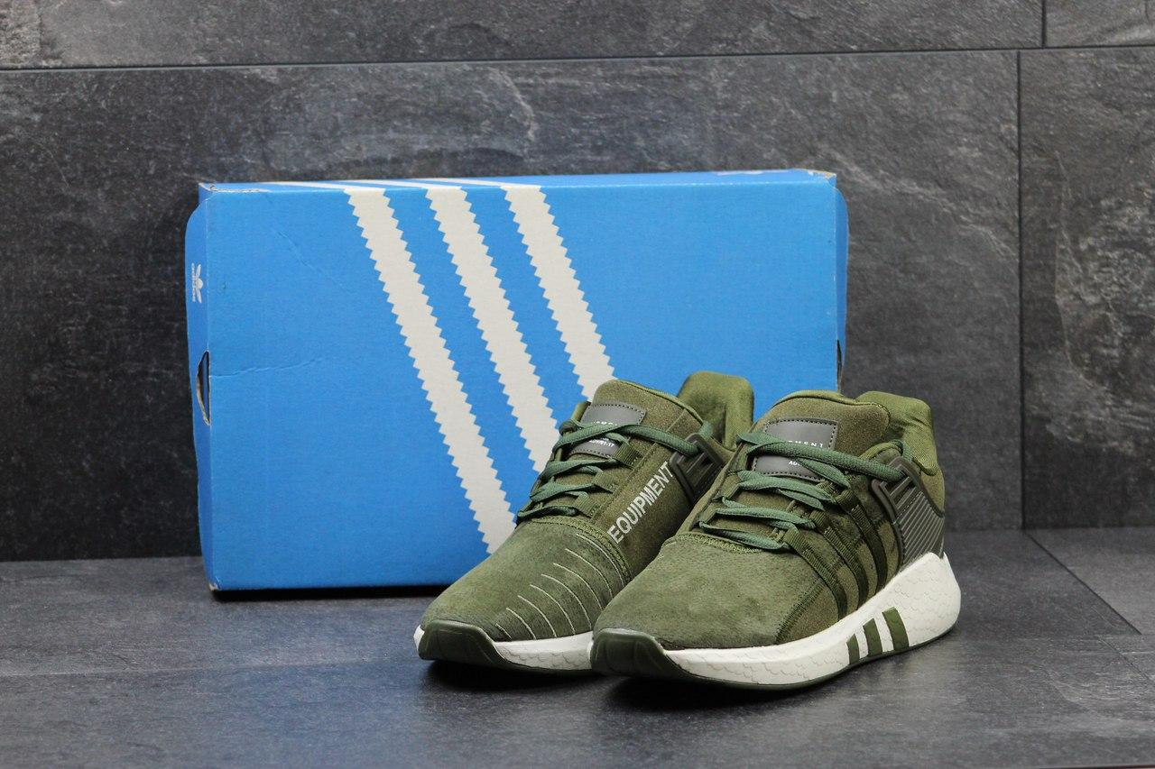 49d52b865748ab Чоловічі замшеві кросівки Adidas Equipment ADV 91-17 -зелені - Камала в  Хмельницком