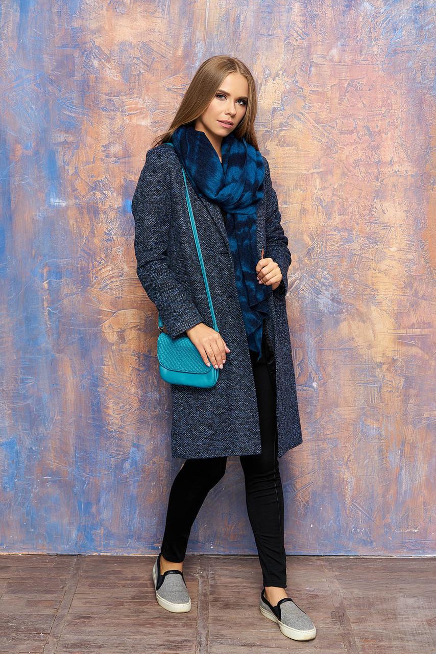 Кардиган-пальто Діва 44-52 синій