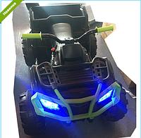 Детский квадроцикл на аккумуляторе M 3564EL-5 зелено-черный ***