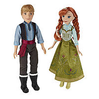 Набор кукол Холодное сердце Анна и Кристоф 2 куклы Дисней Disney Frozen Anna & Kristoff 2-Pack Hasbro B5168