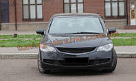 Решетка радиатора в стиле Mugen для Honda Civic 7 2001-2005 седан