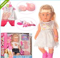 Кукла-пупс WZJ013-1-2 с аксессуарами ***