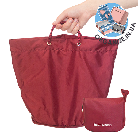 Сумка для покупок/Shopper bag ORGANIZE (бордовый)