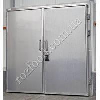 Морозильные двустворчатые двери