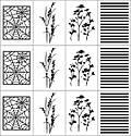 "Трафареты-наклейки для nail-art ""Осень"", фото 3"