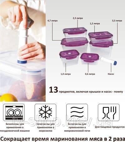 Как сохранить продукты в летнюю жару? Хранение в вакууме.