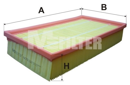Фильтр воздушный M-Filter K478 (118/4 AP)