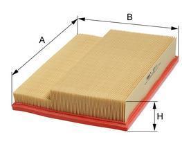 Фильтр воздушный M-Filter K472 (118/6 AP)