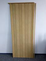 Купить дверь гармошку 0,81*2,03*0,006м дуб светлый 269