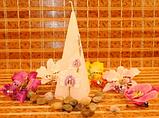 """Свеча """"Орхидея"""" (15*5 см) , фото 2"""