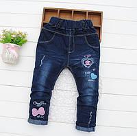 Стильные джинсы для девочки 74-104