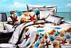 Комплект постельного белья Florida 5D Sateen DV-070 Евро размер