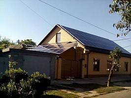 г. Измаил Одесская обл., сетевая солнечная электростанция под зеленый тариф  мощностью 30 кВт