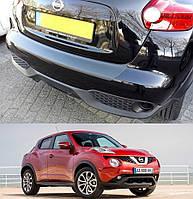 Nissan Juke рестайлинг. 2014> пластиковая накладка заднего бампера
