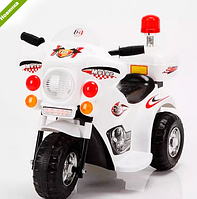 Детский мотоцикл  BAMBI  M 3576-1 белый ***