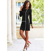 Женское платье  Черная пантера (Черный)