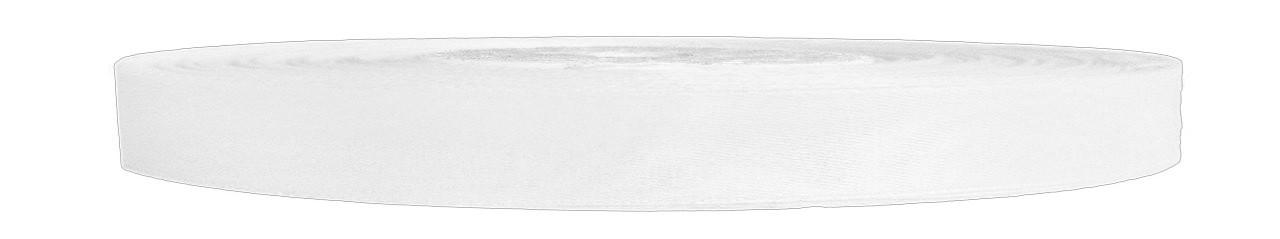 Атласная лента белая 0,6 см х 36 ярдов