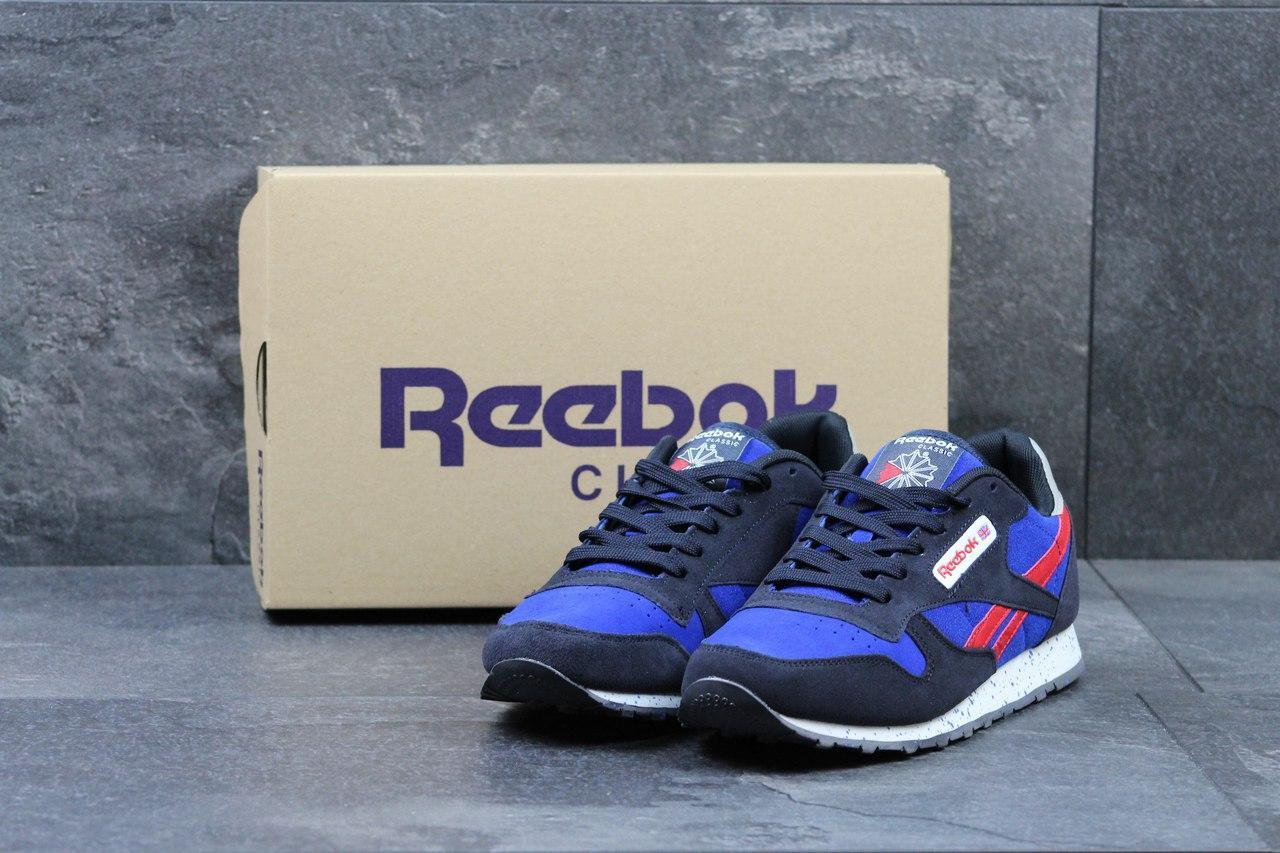 af8257468e4c0b Чоловічі кросівки Reebok Classic -сині з червоним - Камала в Хмельницком